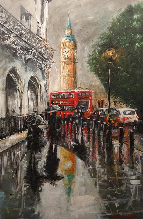 Big Ben Reflections - Ewen Macaulay