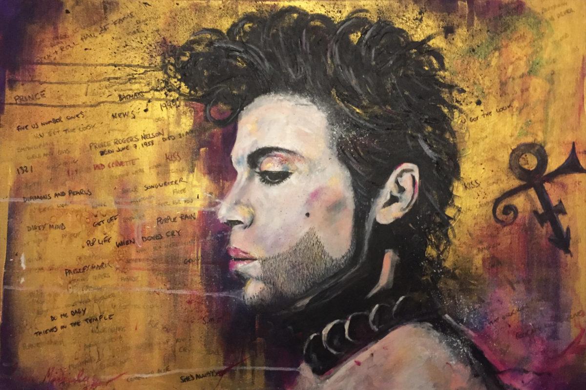 Prince portrait - by Artist Ewen Macaulay