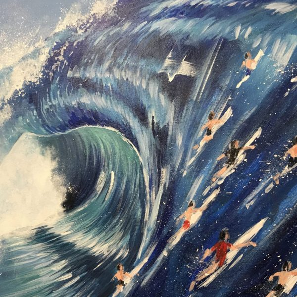 Big Wave Riding - Ewen Macaulay