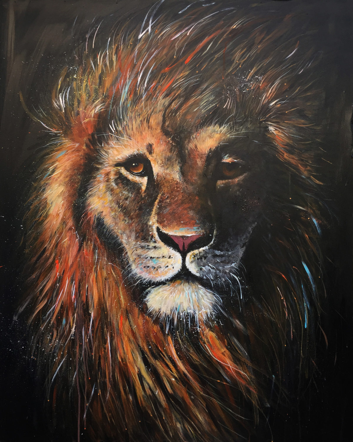 Lion by Artist Ewen Macaulay