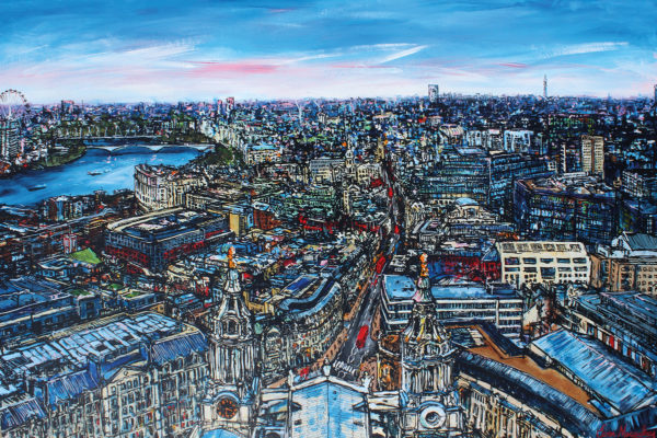 St Paul's Cathedral by Artist Ewen Macaulay