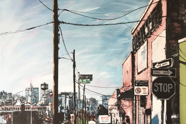Brooklyn NYC by artist Ewen Macaulay