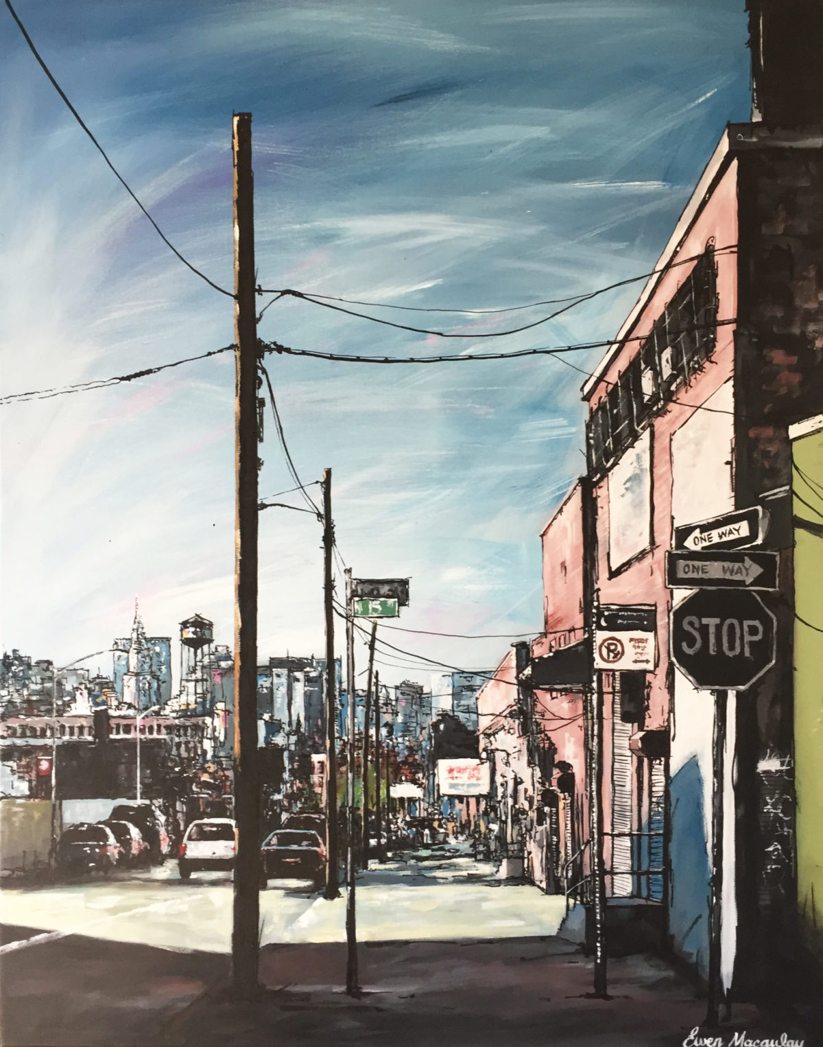 Brooklyn NYC by artist Ewen Macaulay